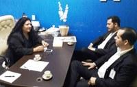 Em reunião com Dona Neide, representantes do CIEE confirmam interesse por Tangará