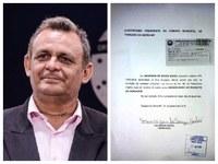 Maurizan Godói protocola renúncia e deixa a Câmara