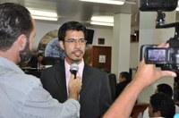 Professor Sebastian quer informações sobre atendimento a pacientes com deficiência no Hospital Municipal
