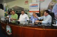 Reunião da Assembleia com vereadores e prefeitos da Região foi realizada na Câmara de Tangará da Serra