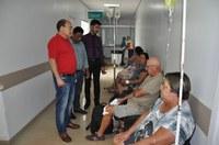 Verta, Sebastian e Carlinho visitam UPA e devem oficializar recomendações